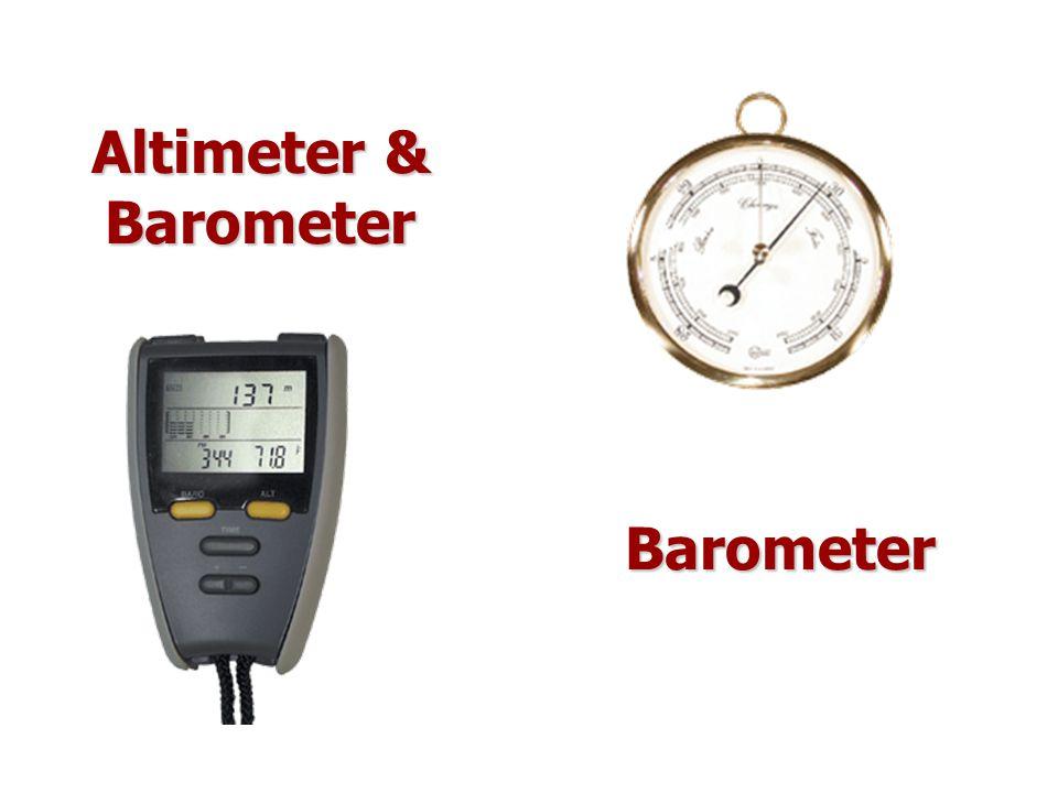 Altimeter & Barometer Barometer