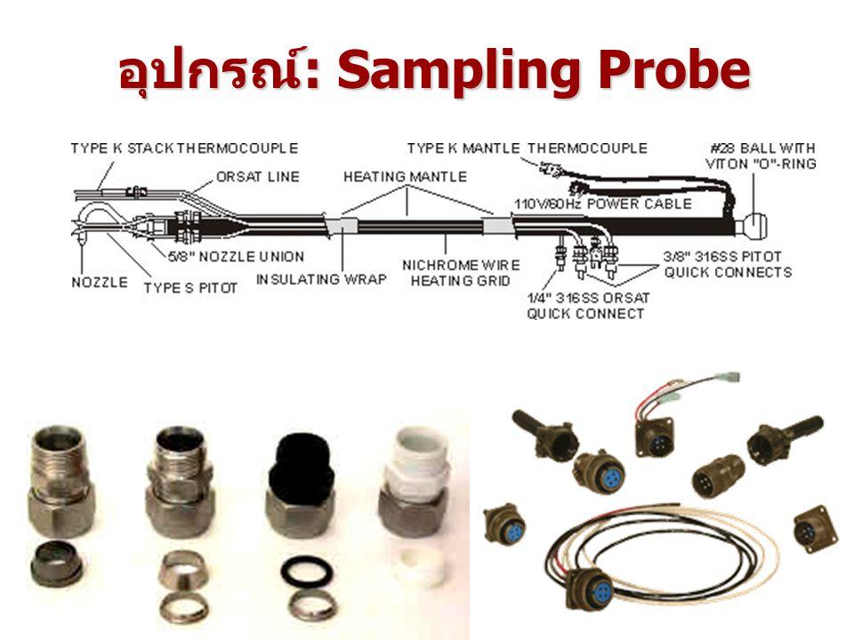 อุปกรณ์: Sampling Probe