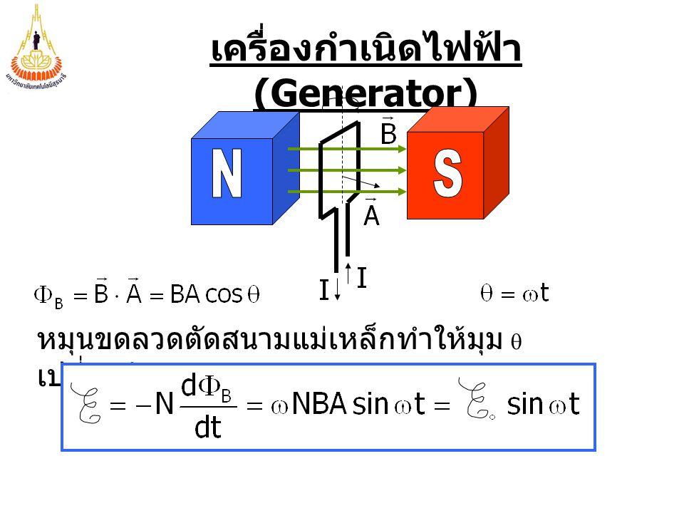 เครื่องกำเนิดไฟฟ้า(Generator)