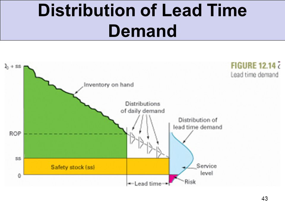 Distribution of Lead Time Demand