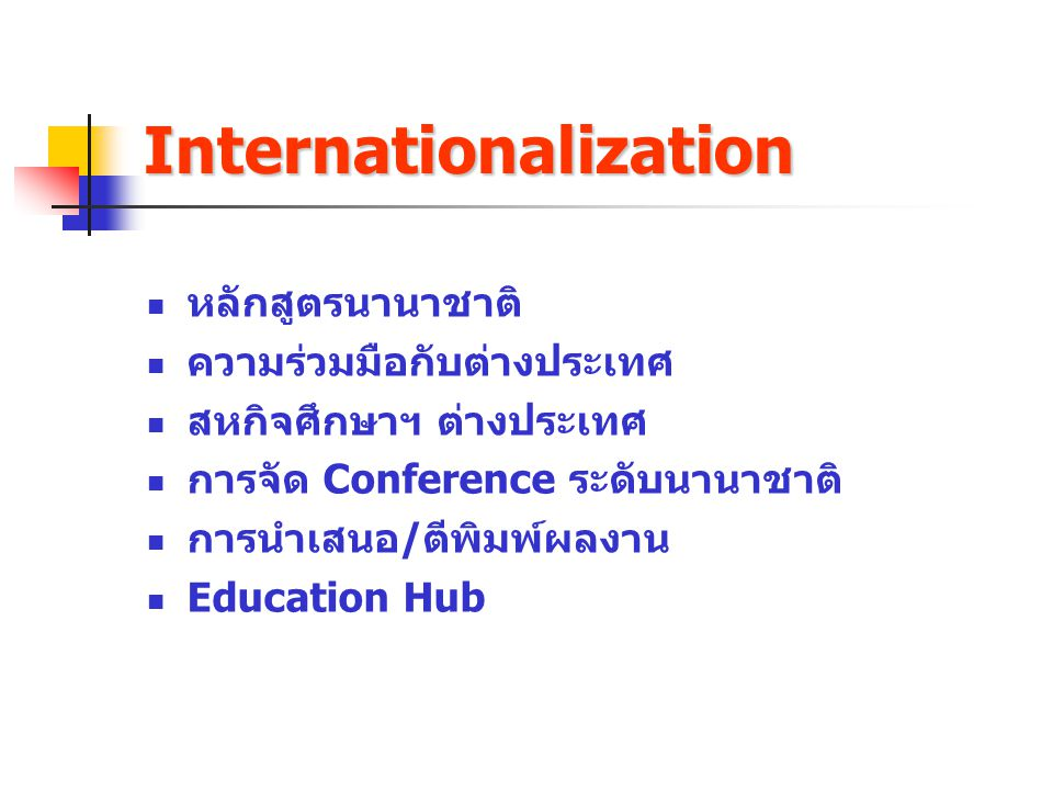 Internationalization