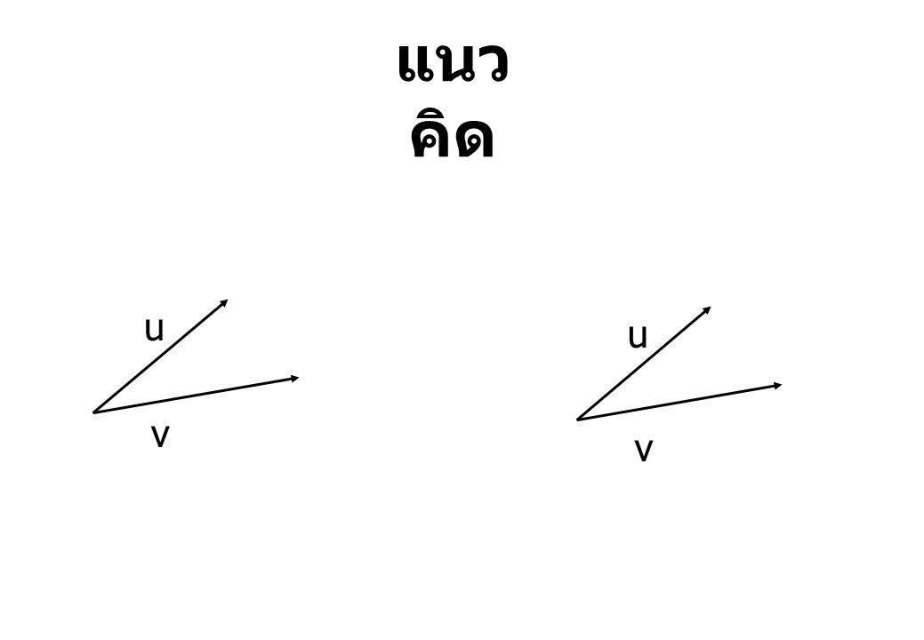 แนวคิด u u v v