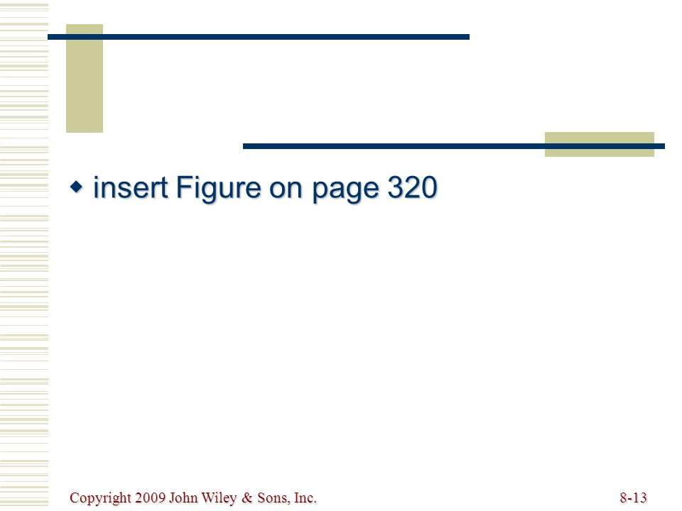 insert Figure on page 320 Copyright 2009 John Wiley & Sons, Inc.