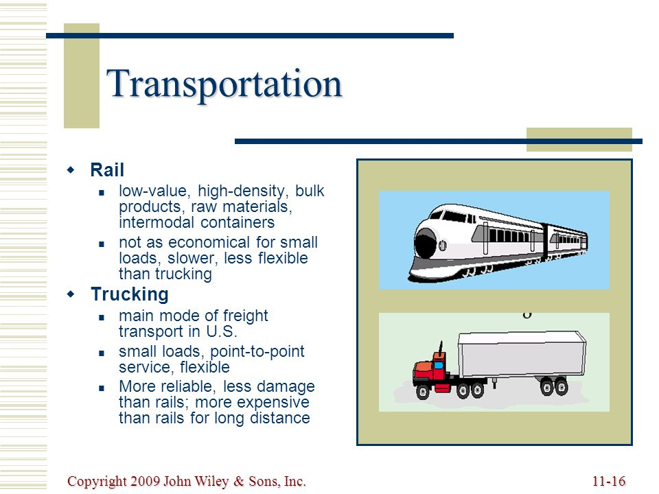 Transportation Rail Trucking