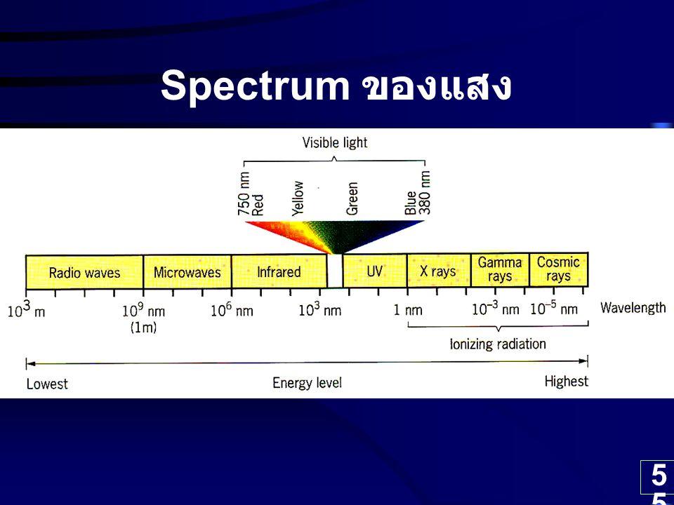 Spectrum ของแสง