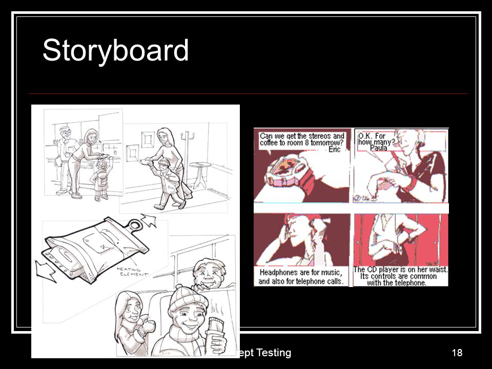 Storyboard Concept Testing