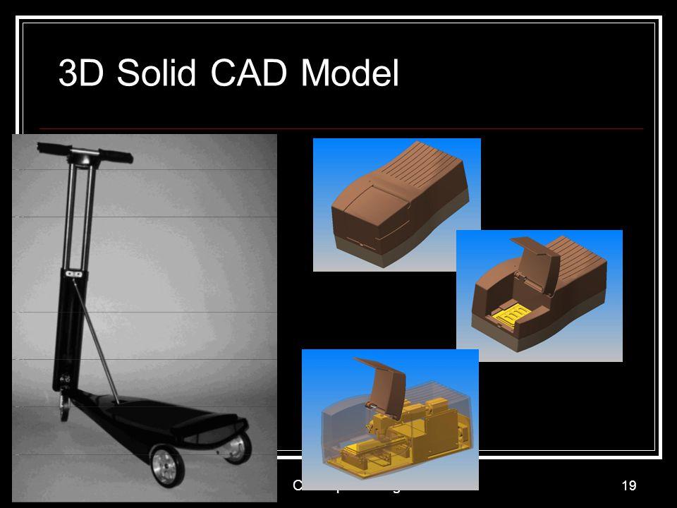 3D Solid CAD Model Concept Testing