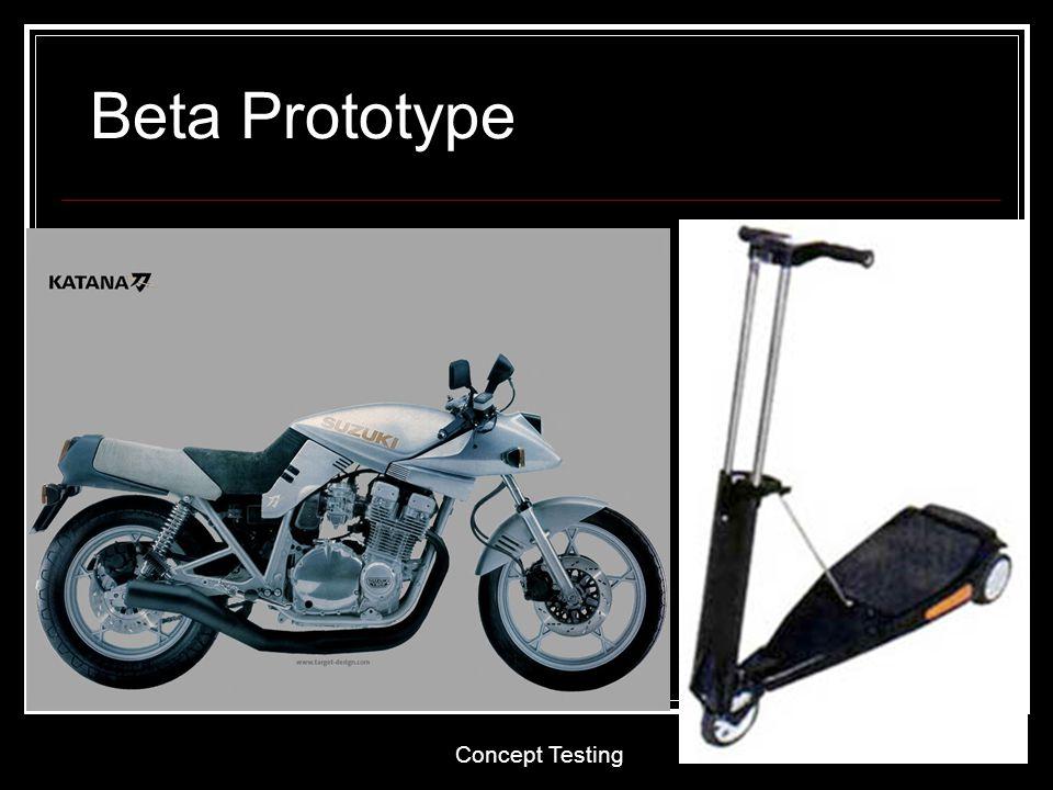 Beta Prototype Concept Testing