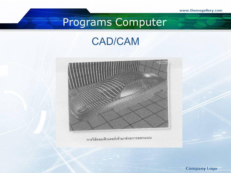 www.themegallery.com Programs Computer CAD/CAM Company Logo