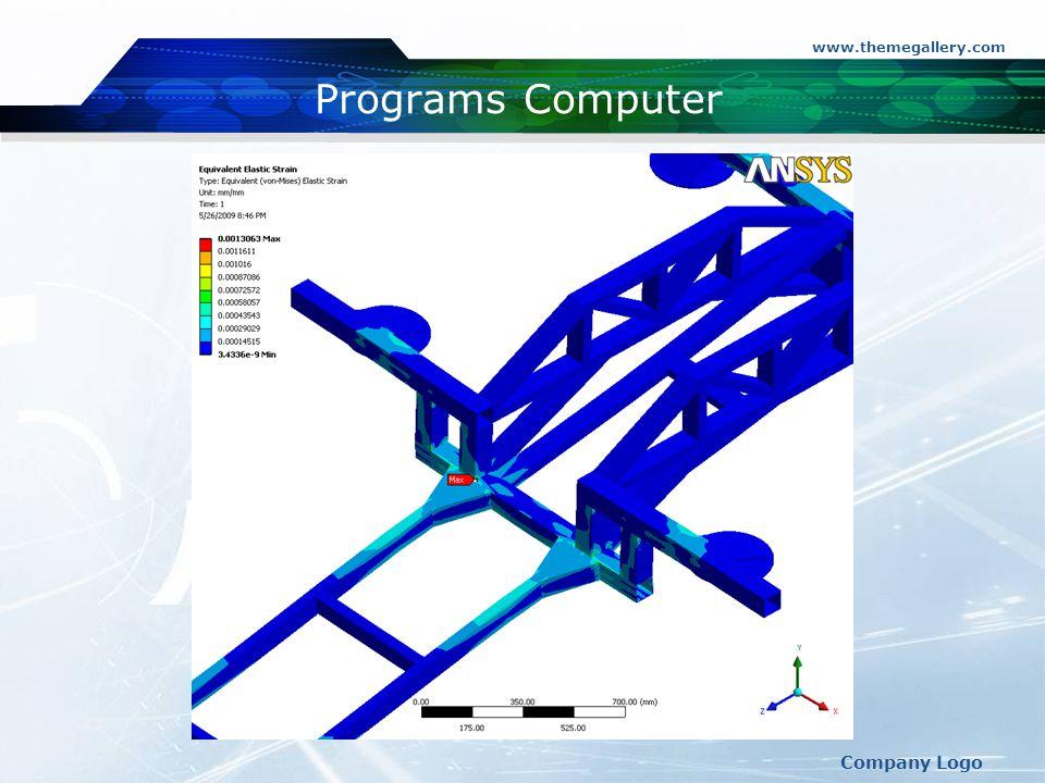 www.themegallery.com Programs Computer Company Logo