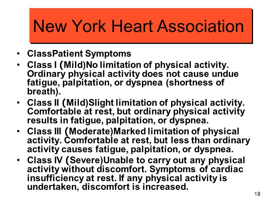 New York Heart Association