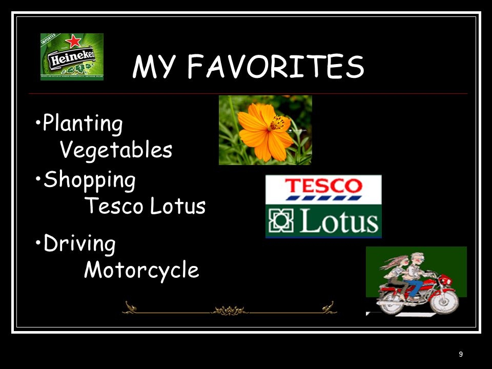 MY FAVORITES Planting Vegetables Shopping Tesco Lotus Driving