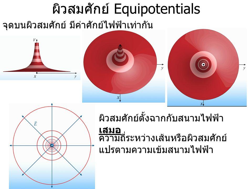 ผิวสมศักย์ Equipotentials