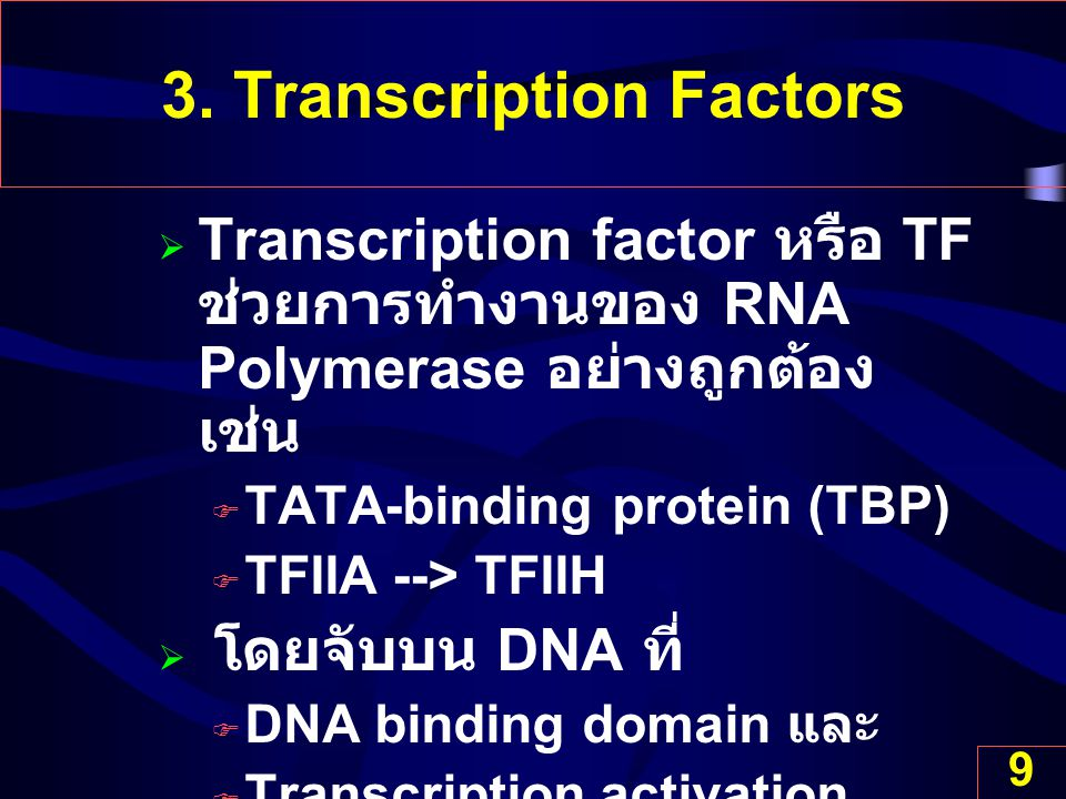3. Transcription Factors