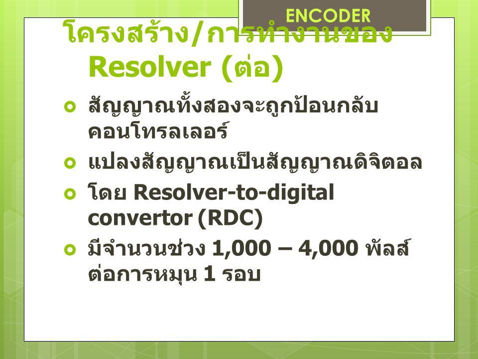 โครงสร้าง/การทำงานของ Resolver (ต่อ)