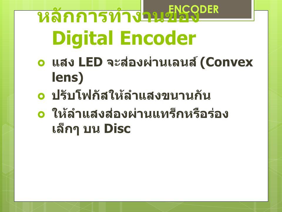 หลักการทำงานของ Digital Encoder