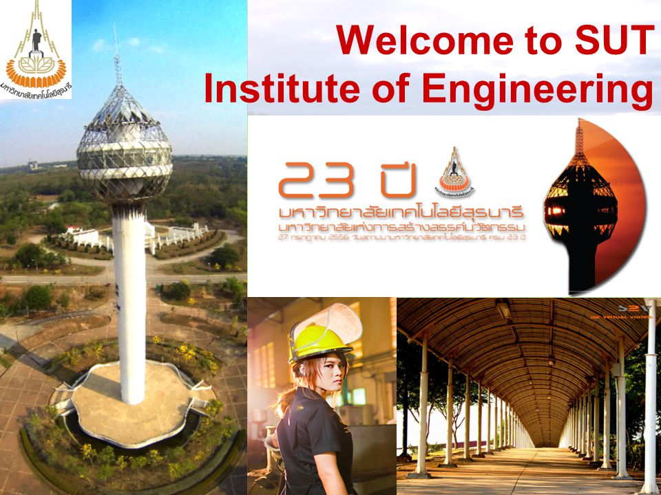 Welcome to SUT Institute of Engineering