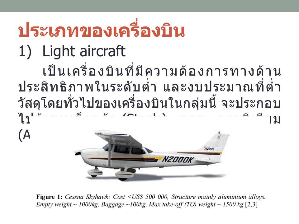ประเภทของเครื่องบิน Light aircraft