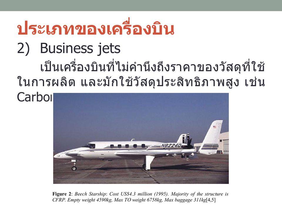 ประเภทของเครื่องบิน Business jets