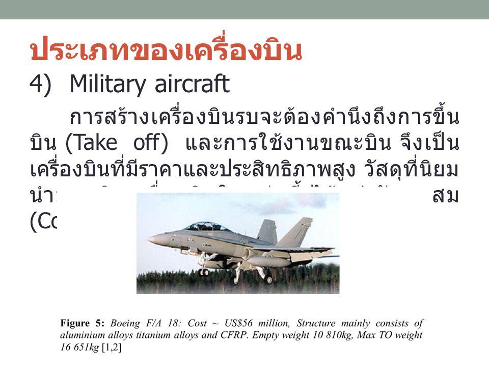 ประเภทของเครื่องบิน Military aircraft