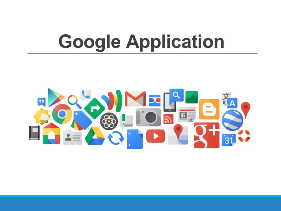 Google Application