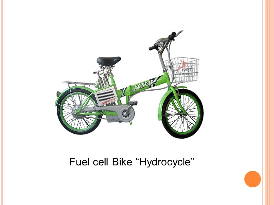 Fuel cell Bike Hydrocycle