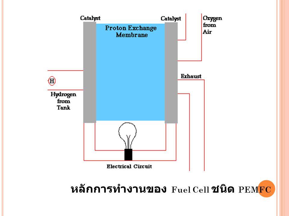 หลักการทำงานของ Fuel Cell ชนิด PEMFC