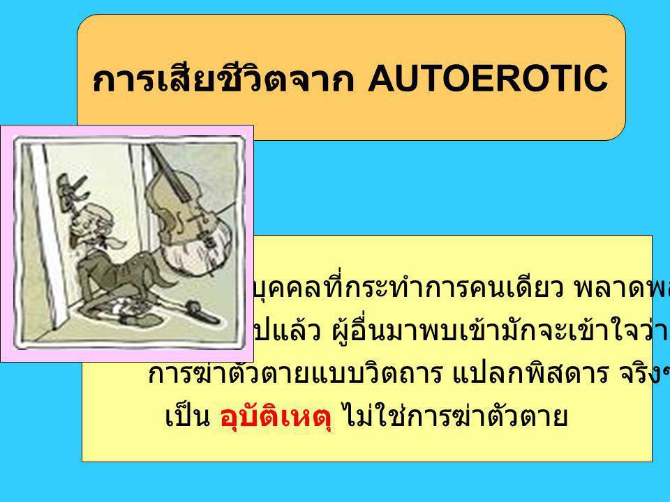 การเสียชีวิตจาก AUTOEROTIC
