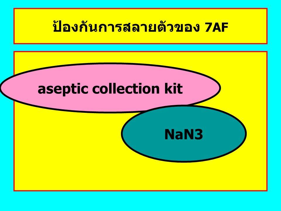 ป้องกันการสลายตัวของ 7AF