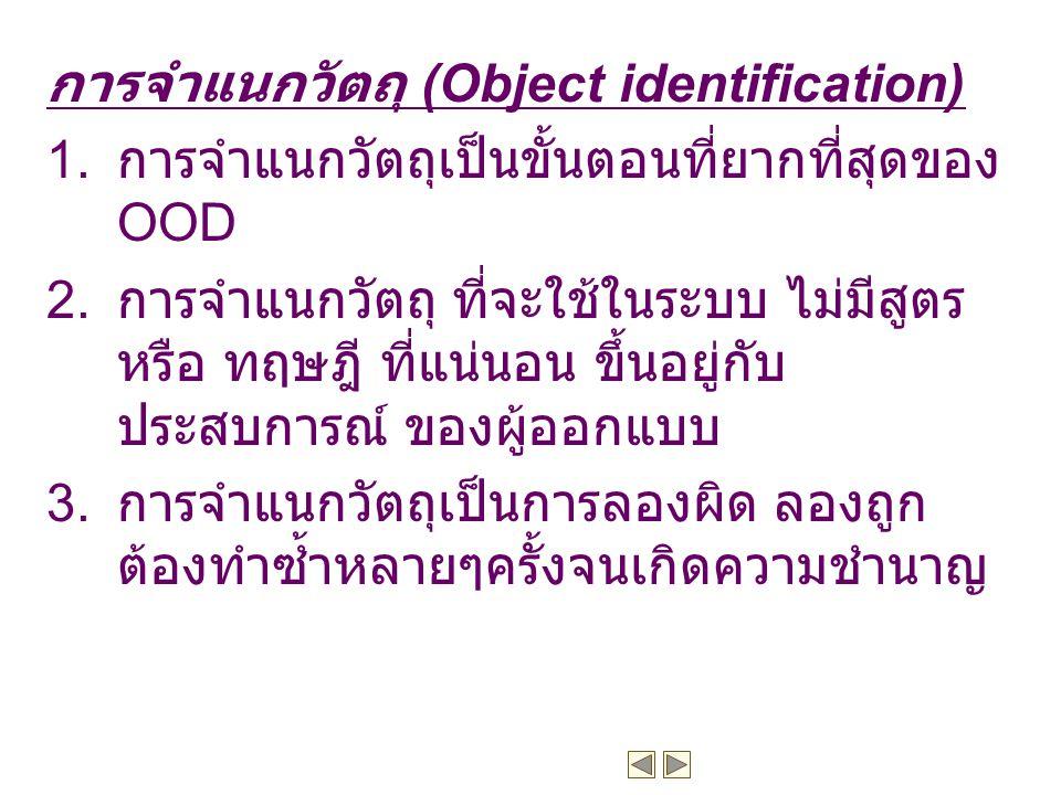 การจำแนกวัตถุ (Object identification)