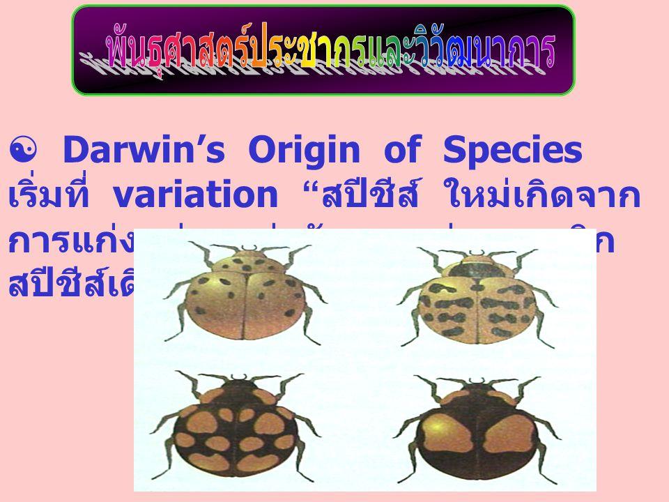 พันธุศาสตร์ประชากรและวิวัฒนาการ