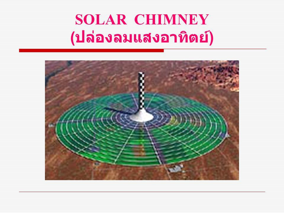 SOLAR CHIMNEY (ปล่องลมแสงอาทิตย์)