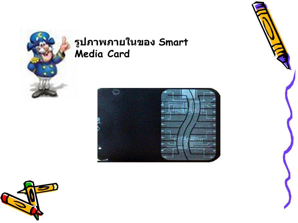 รูปภาพภายในของ Smart Media Card