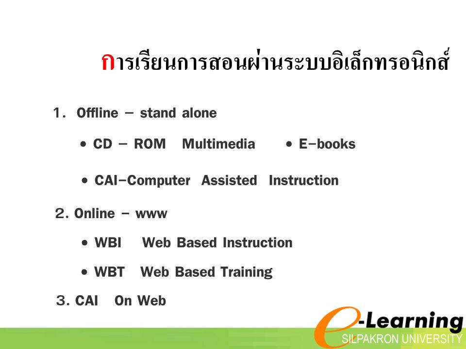 การเรียนการสอนผ่านระบบอิเล็กทรอนิกส์