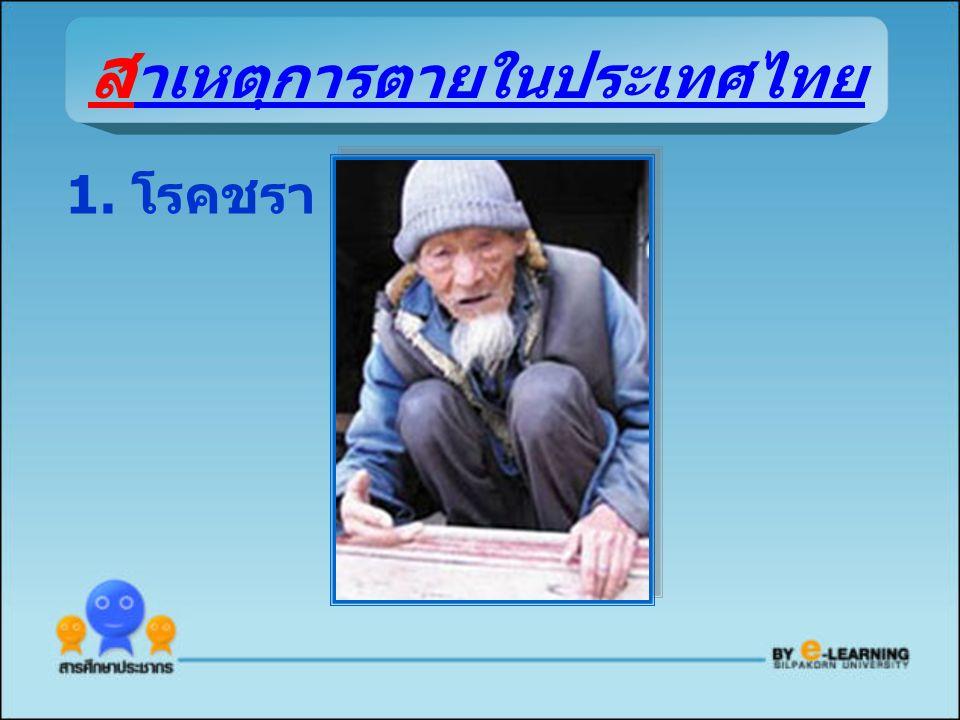 สาเหตุการตายในประเทศไทย