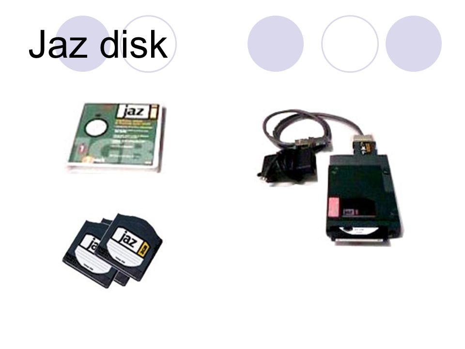 Jaz disk