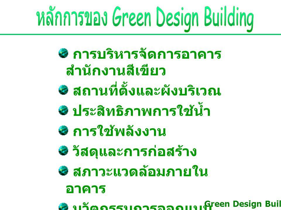 หลักการของ Green Design Building