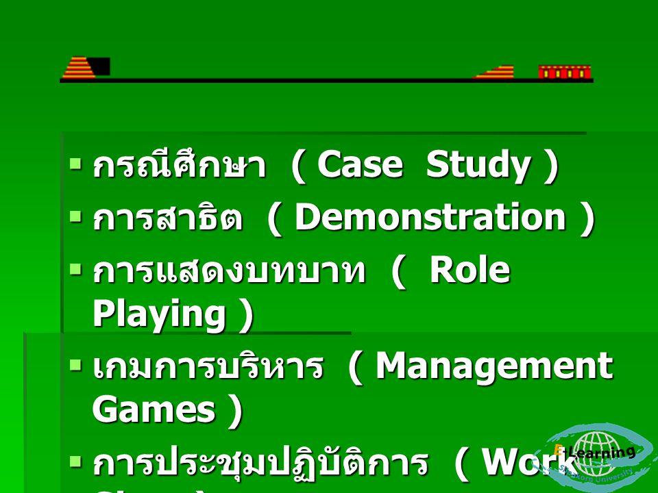 กรณีศึกษา ( Case Study )