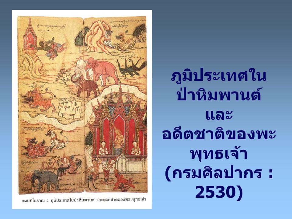 ภูมิประเทศในป่าหิมพานต์ และ อดีตชาติของพะพุทธเจ้า