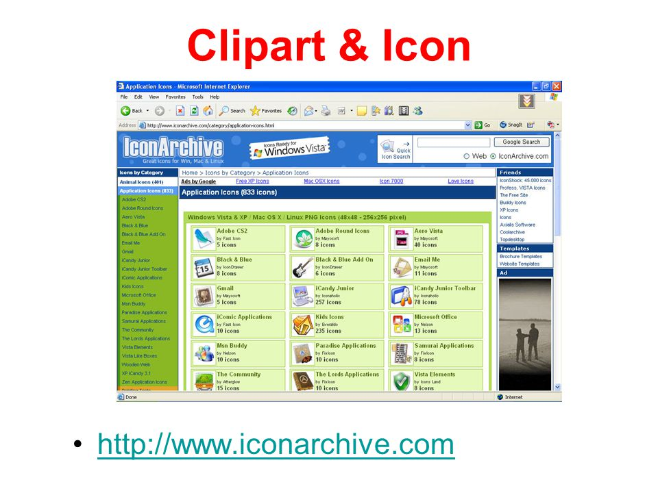 Clipart & Icon http://www.iconarchive.com