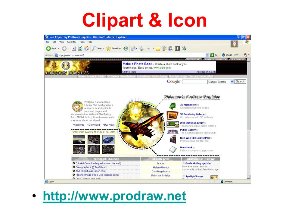 Clipart & Icon http://www.prodraw.net