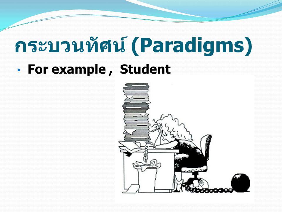 กระบวนทัศน์ (Paradigms)