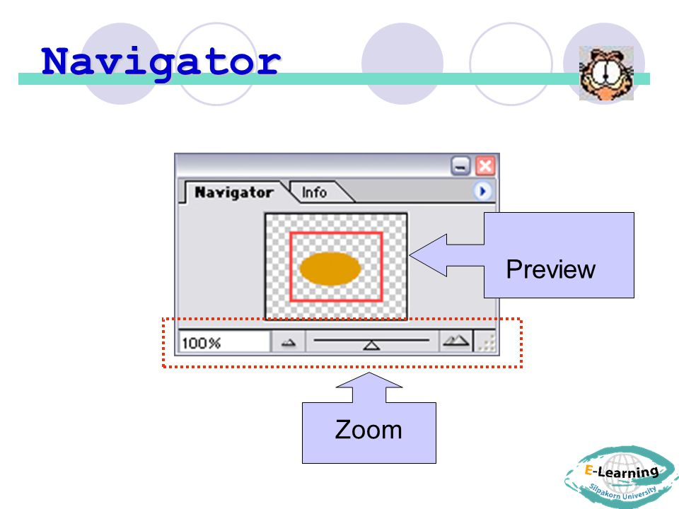 Navigator Preview Zoom