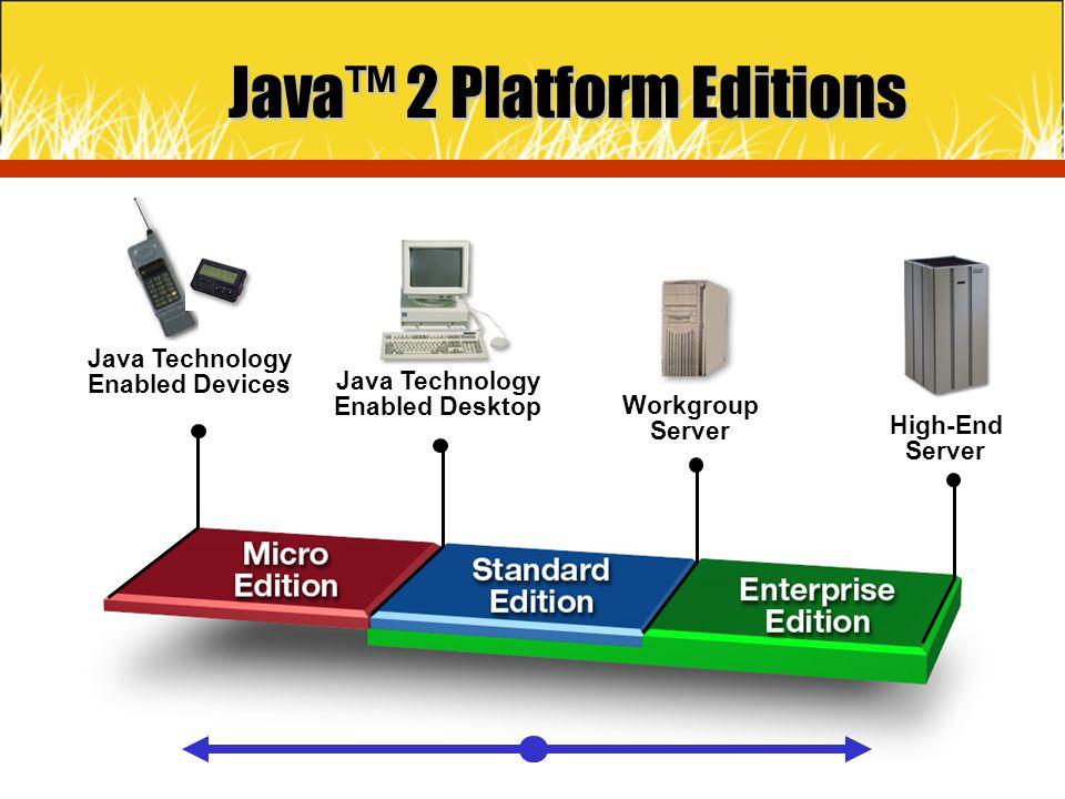 Java™ 2 Platform Editions