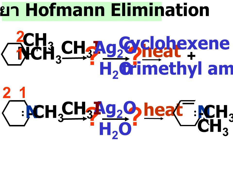 ปฏิกริยา Hofmann Elimination