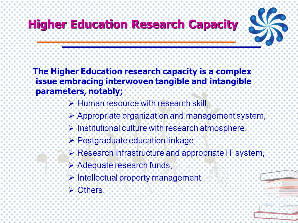 Higher Education Research Capacity