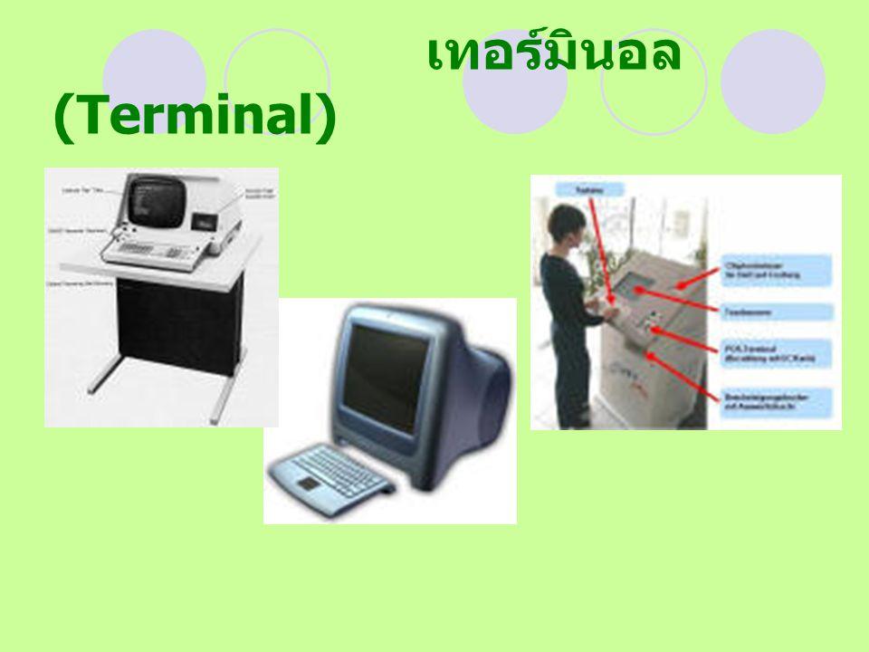 เทอร์มินอล (Terminal)