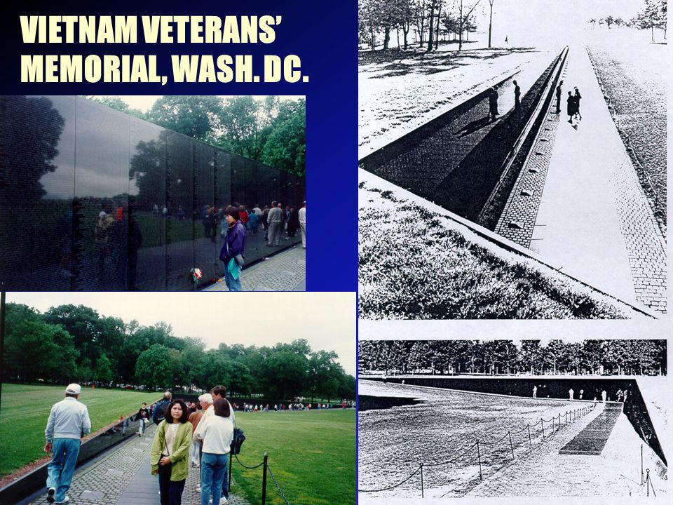VIETNAM VETERANS' MEMORIAL, WASH. DC.