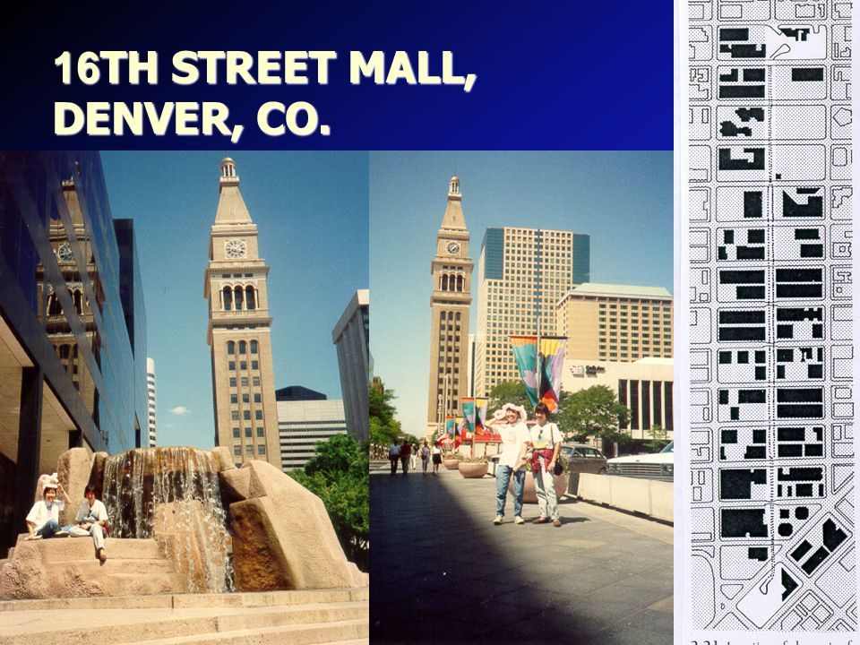 16TH STREET MALL, DENVER, CO.