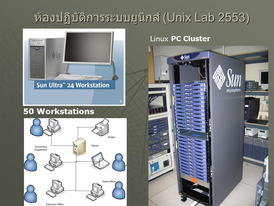 ห้องปฏิบัติการระบบยูนิกส์ (Unix Lab 2553)